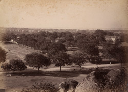 General view from One Tree Rock, Secunderabad.